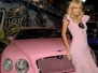 Paris Hilton e la sua Bentley Rosa