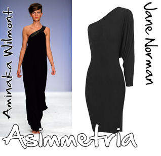 Tendenza fashion 2009: asimmetria