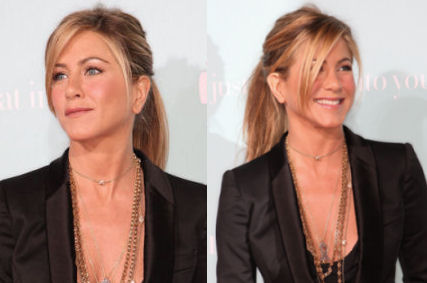 La coda chic di Jennifer Aniston