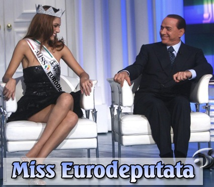 Miss Eurodeputata e Berlusconi