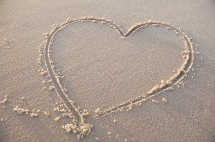 Love on the beach