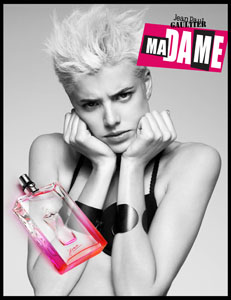MA DAME by Jean Paul Gaultier con Agyness Deyn come modella