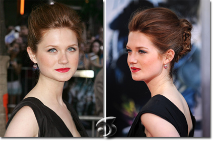 Bonnie Wright, l'attrice che interpreta Ginny Weasley in Harry Potter