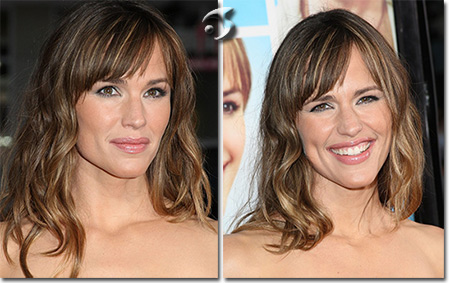 L'Acconciatura di Jennifer Garner