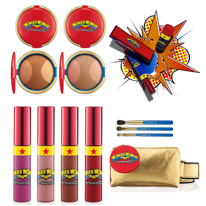 Wonder Woman Collection by Mac