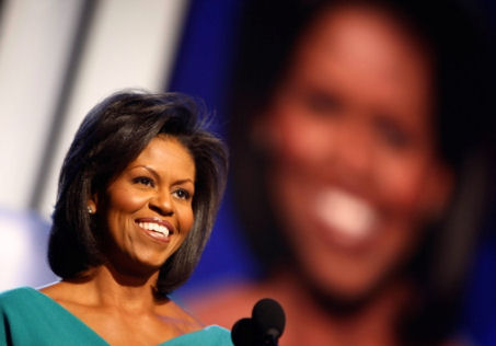 La first lady americana, Michelle Obama