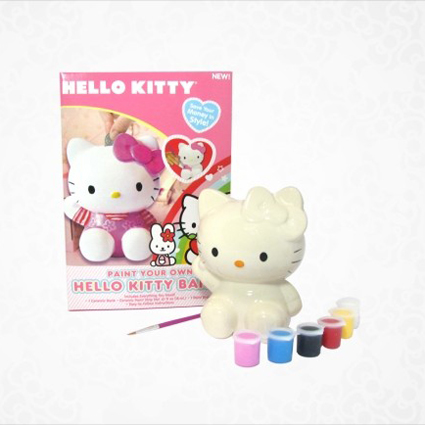 Kit per dipingere Hello Kitty
